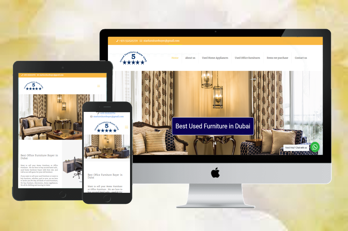 website development UAE